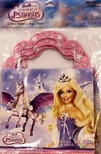 BARBIE Magic of Pegasus FAVOR BOXES (4) ~ Birthday Party Supplies Treat Goody