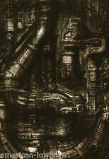 HR Giger Art Poster Print Stadt I City I Biomechanical Baphomet Prometheus Alien