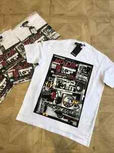 "Brand new DSQ /DSQUARED2 T-shirt in White  Reg Fit   Medium / p2p 21"""