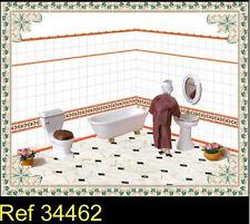 Arredamento per case di bambole e miniature bagno , Scala 1:12