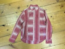 Pepe Jeans London Red And Cream Long Sleeve Shirt - Medium (3)