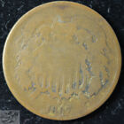 1867 Two Cent Piece, About Good+ Condition, Free Shipping, Civil War Era, C5482 for sale