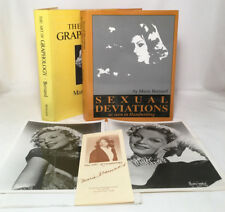 Marie Bernard SIGNED Inscribed Handwriting Sexual Deviations Graphology Book Lot