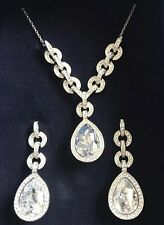 Swaroski Necklace and Earrings Set