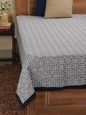 Beautiful Hand Block Printed fabric 100% Cotton Bed Cover