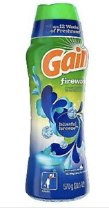 Gain Fireworks In-Wash Scent Booster Beads, Blissful Breeze Scent (20.1 oz)