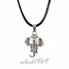 ❤️ Halskette Anhänger Elefant Elephant silber Necklace Pendant