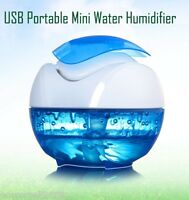 New Portable USB Water Bottle Caps Humidifier Humidifier Air Diffuser Mist Steam