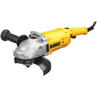 DEWALT 7 in. 8,000 RPM 4 HP Angle Grinder with Trigger Lock-On DWE4517 New