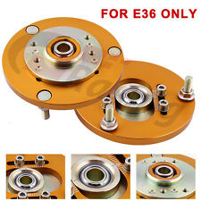 Front Coilover Camber Plate for BMW E36 3 Series 318 320 323 325 M3 Caste Kit