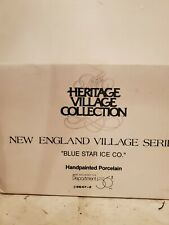 "Dept 56 ""Blue Star Ice Co."" # 56472-New England Village- Good condition Nib"