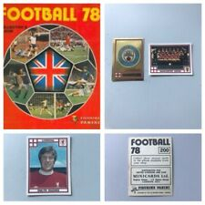 PANINI FOOTBALL 78 Stickers. Complete your set, 1, 2, 3, 4, 5,10,15,25 available