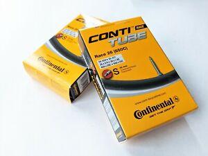 "2x Continental Race Inner Tube 26"" 650c Presta Valve"