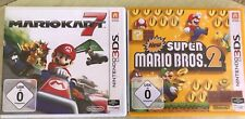 Mario Kart 7 + New Super Mario Bros.2 für Ninetndo 2DS 3DS (New) XL. Top!!
