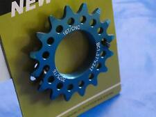 """Blue New Cog Sprocket Threaded 16Tx1/8"""" Single Speed Fixie FixGear Track Bicycle"""