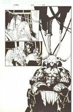 X-Men #202 p.22 - Mystique and Mr. Sinister Splash - 2007 art by Humberto Ramos