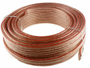10 GAUGE 50' FEET SPEAKER WIRE FOR  HOME/CAR FAST FREE USA SHIPPING 10AWG