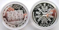 San Marino 1999 Europe Union Mint Box Set 2 Silver Coins,Proof