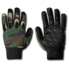 Woodland Forest Camo Hunter Tactical Hunters Hunting Glove Gloves S M L XL 2XL