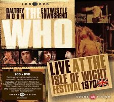 THE WHO - LIVE AT THE ISLE OF WIGHT FESTIVAL 1970: 2CD & 1DVD SET (2013)