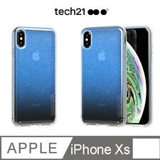 Tech21 Pure Shimmer iPhone X / XS Phone Case Blue - NEW