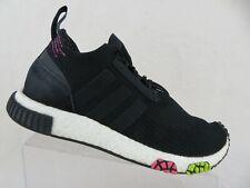 ADIDAS NMD Racer PK Primeknit Black Sz 9.5 Men Running Shoes