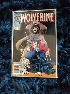 Wolverine #6 Newsstand 1989 X-Men Todd McFarlane Marvel News stand