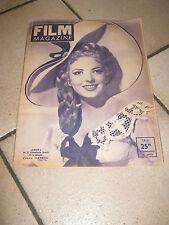 FILM MAGAZINE,1948,AMBRA,LINDA DARNELL Forever Amber,Otto Preminger, Wilde