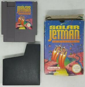 Solar Jetman: Hunt For The Golden Warpship - Nintendo NES - PAL - Boxed