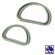 30pcs D Ring 25mm Metal Buckle D-rings Strap Loop Webbing Strapping CKBD00925x30