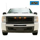 Eag Led Grille Replacement Full Front Grill Fits 2007-2013 Chevy Silverado 1500