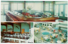Postcard Salle A Manger Motel Picardie in Mont-Laurier, Quebec, Canada~107847