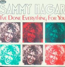 "7"" Sammy Hagar/i 've Done Everything for you (D) Van Halen"