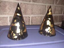 Orgonite Merlin's Hat. LEAD inside, GOLD outside! Reiki charged!! 24kt GOLD!!!!