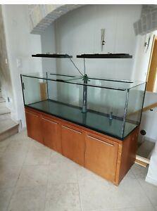 Aquarium 960 Liter mit unterschrank gebraucht