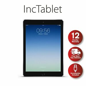 Apple iPad Air 16GB 32GB 64GB 128GB - WiFi or WiFi + 4G EXCELLENT