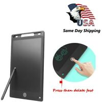 8.5'' inch LCD Writing Drawing Tablet Pad eWriter Notepad Boogie Board Kids