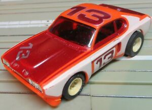 Faller Aurora - Mint Ford Capri With AFX Chassis, 70er Years (RPS325)