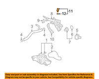 2004-2007 SATURN VUE COOLANT TEMPERATURE SENSORS TEMP SENSOR NEW GM # 12581527