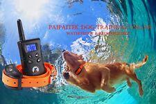 Vibration Paipaitek Dog Training Collar No Shock Harmless Waterproof Orange TPU