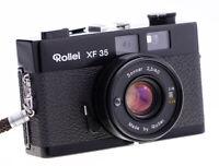 Rollei XF 35 mit Sonnar 40 mm f 2,3 Rangefinder Schwere Messing Version TOP