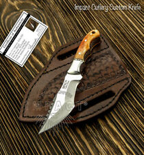 IMPACT CUTLERY RARE CUSTOM  FULL TANG  SKINNING NECK MINIATURE TRACKER KNIFE