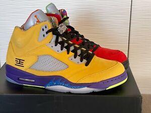 """Nike Air Jordan 5 Retro SE Shoe """"What The"""" (US Size M 13)"""