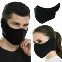 Warm Half Face Mask for Winter Ourdoor Motorcycle Bike Cycling Skull Ski Snow