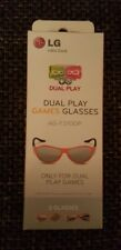 2x LG funky 3D Dual Play Games Glasses Brille (AG-F310DP)