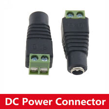 10PCS Camera DC Power Connector Female Plug Connecto Adapter Jack Y7K6 5.5*2.1mm
