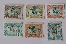 1903 part set 6 0f 14 from French Somali coast 2 used  4 MH CV £28+