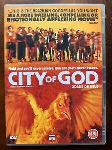 City de Dieu DVD 2002 Brésilien Rio De Janiero Flavella Portugais Film Classique