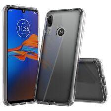 For Motorola Moto E6s (2020) Case Clear Silicone Ultra Slim Gel Cover