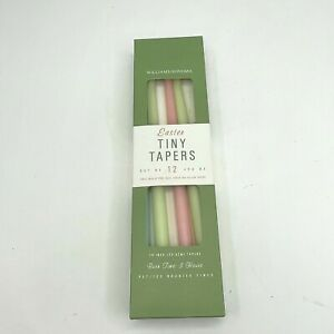 Williams Sonoma Easter Tiny Taper Candles Set of 8